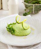 Flan-zucchini Cake.