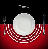Постер, плакат: Restaurant Menu Design