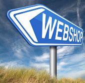 web shop online shopping  for internet webshop or store