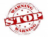Warning Stop