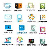 Big Set Of Vector Icons Computers