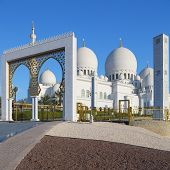 Entry Of Sheikh Zayed Grand Mosque