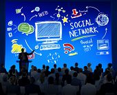 Social Network Social Media Business People Seminar Concept