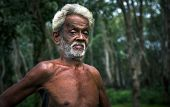 Mature Sri Lankan man