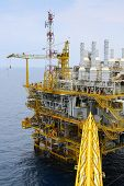 picture of offshoring  - Offshore oil and gas production and exploration business - JPG