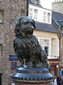picture of bobbies  - Fountain erected in honour of Greyfriar - JPG