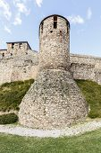 stock photo of templar  - Templar castle in Ponferrada the Bierzo Spain - JPG