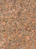 image of slab  - texture of coarse solid natural mottled red - JPG