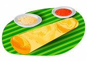 stock photo of indian food  - dosa - JPG