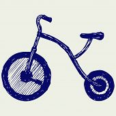 image of tricycle  - Tricycle child - JPG