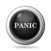 picture of panic  - Panic icon - JPG