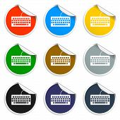 pic of qwerty  - keyboard icon - JPG