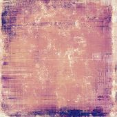 image of violets  - Abstract grunge background with retro design elements and different color patterns - JPG