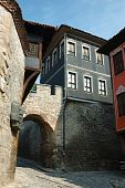Medieval Houses Of Old Center In Plovdiv,bulgaria poster