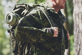stock photo of army soldier  - war - JPG