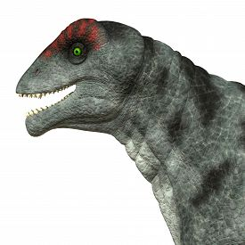 foto of herbivore  - Moschops was a primeval herbivorous dinosaur that lived in South Africa in the Permian Period - JPG