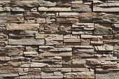 Abstract Slate Rock Wall Background
