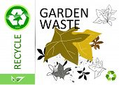 Please recycle garden waste