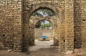 Gate to the ancient fortified city of Harar, Ethiopia poster