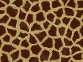 giraffe fur background texture that tiles seamless as a pattern