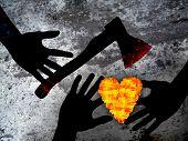 Kriminelle Liebe: Herz & Axt