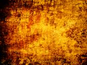 abstract gold yellow grunge background