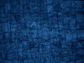 blue cracked background