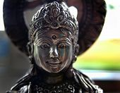 Face Of Shiva Statue