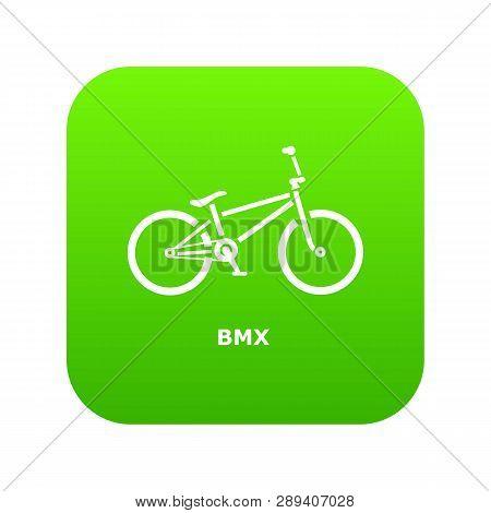 Bmx Bike Icon Simple Illustration