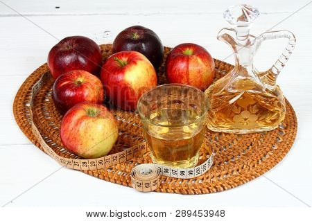 Apple Vinegar And Apples Fresh