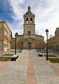 Santa Maria cathedral located in the town of Ciudad Rodrigo, Spain