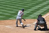 June 22nd, 2008 - Detroit Tigers Catcher Ivan Rodriguez batting during a game versus the San Diego P