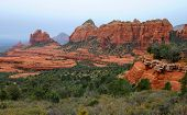 Panoramic landscape near Sedona, Arizona