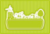 green eco friendly banner