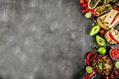 Mexican Food Concept. Cinco De Mayo Food. poster