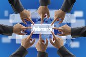 stock photo of performance evaluation  - A diverse business teamwork do World Performance Evaluation Audit - JPG