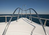 View From A Large Luxury Motor Yacht