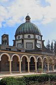 stock photo of beatitudes  - Basilica on Mount Beatitudes - JPG
