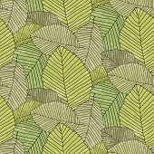 leafs pattern color
