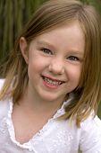Child Portrait Outdoors