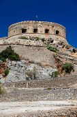 The Island-fortress Of Spinalonga.