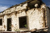 stock photo of stagecoach  - abandoned stagecoach depot on a back road in Arizona - JPG