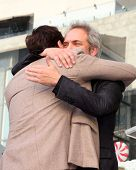 LOS ANGELES - NOV 8:  Javier Bardem, Sam Mendes at the Hollywood Walk of Fame Star Ceremony for Javi