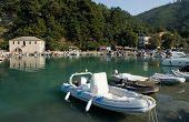 Skala Potamias Port Thasos Island Greece In Summer