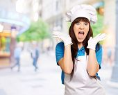 Shock To Woman On Cooking Time, Outdoor