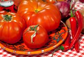 Italian Cuisine - Vegetables