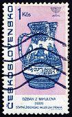 Postage Stamp Czechoslovakia 1967 Mikulov Jug