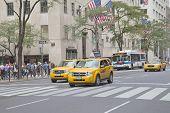 Traffic At 5Th Avenue (new York City)