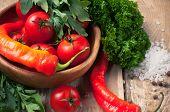 Bright Summer Vegetables