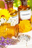 Floral Aromatherapy, Essential Oil And Plant Extracts